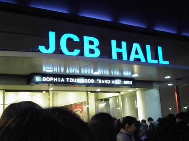 SOPIIA LIVE @ JCBホール